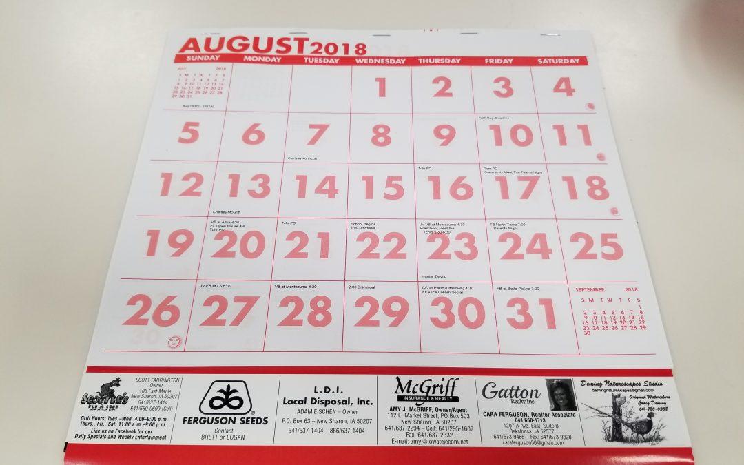 Senior Calendars On Sale