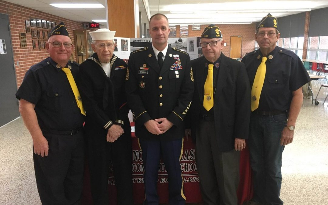 Veterans Day Service to Honor Local Veterans