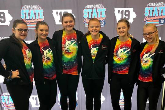 Congratulations to the Dance Team