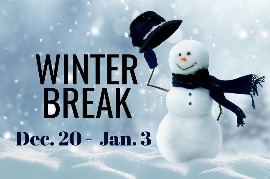 Get ready…Winter Break is almost here!