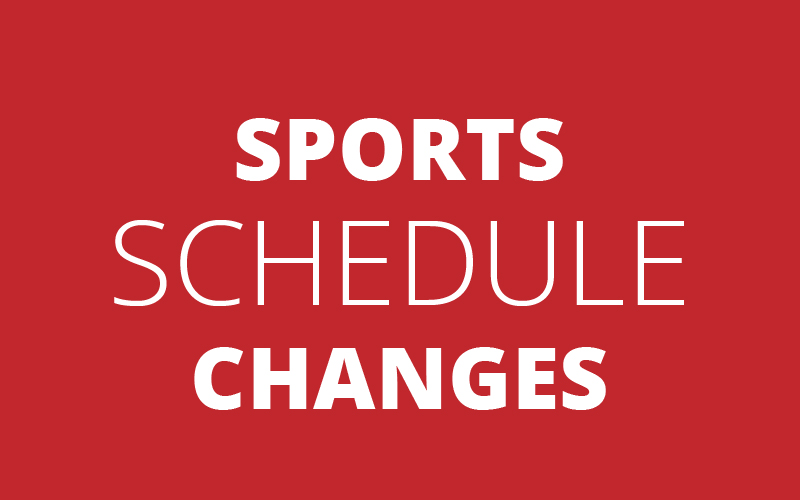No Wrestling or JH Basketball Saturday | January 12