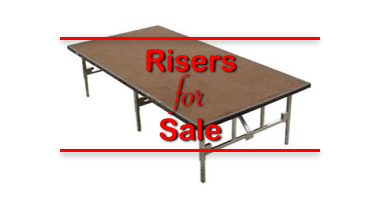 Risers for Sale