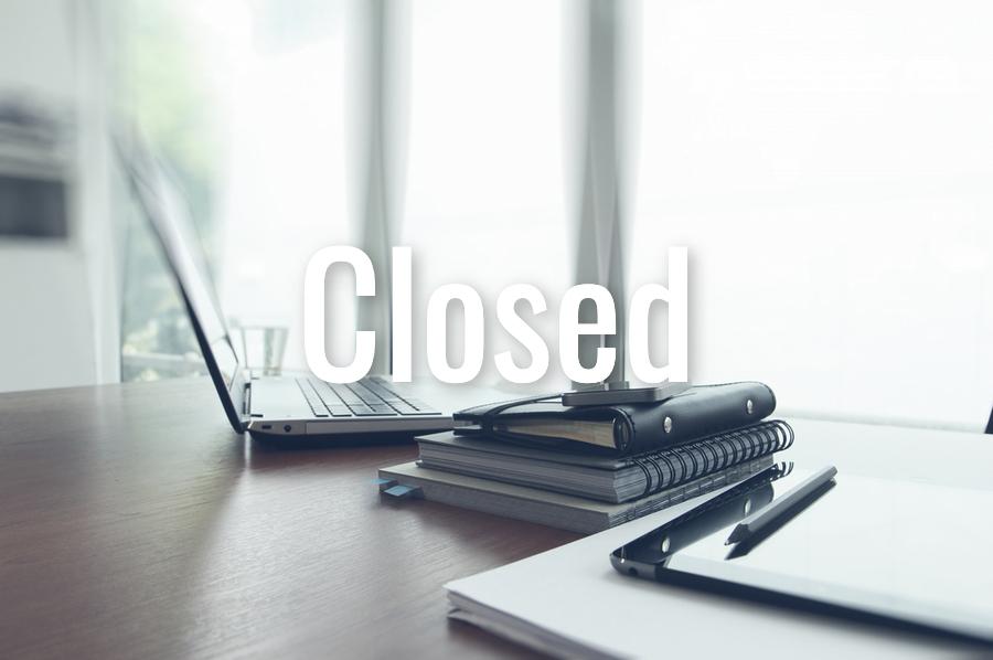 High School Office Closed