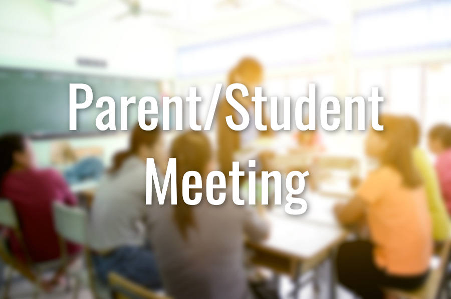 Class of 2020 Student/ Parent Meeting