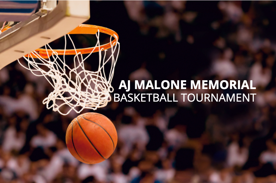 AJ Malone Memorial Basketball Tournament T-shirts