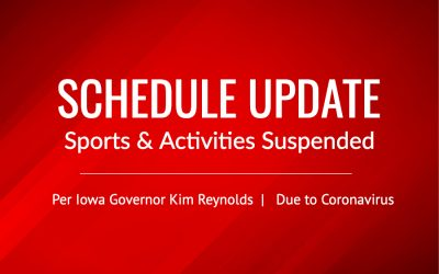 Sports and Activities Suspended in Iowa