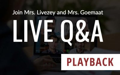 Q&A with Mrs. Livezey and Mrs. Goemaat