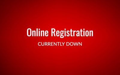 Online Registration Down