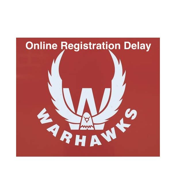 Online Registration Delay