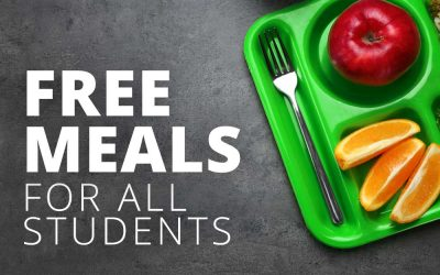 All Students Eligible for School Breakfast & Lunch – Free