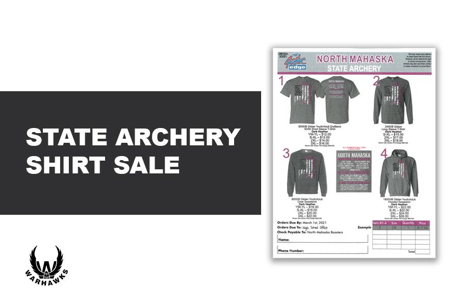 State Archery Shirts on Sale
