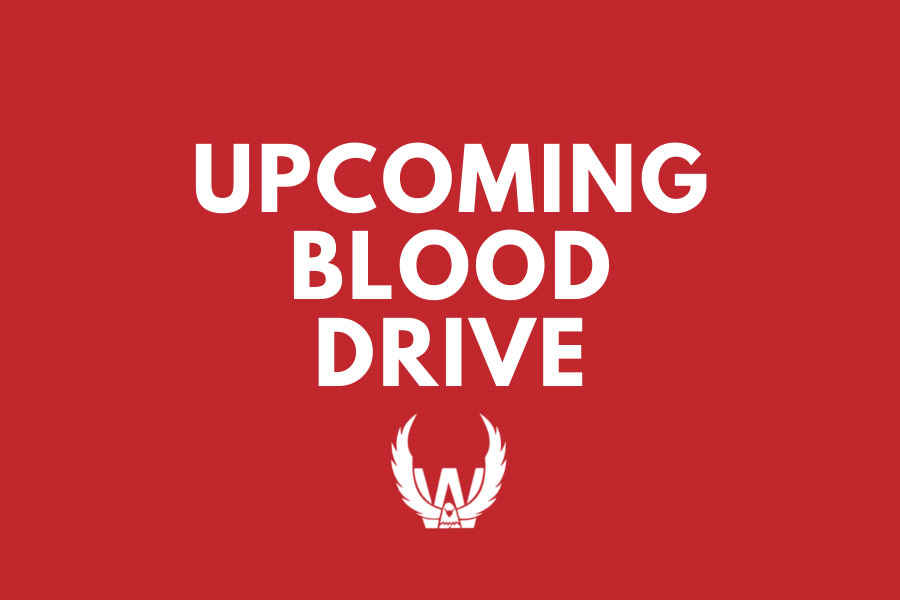 Upcoming Blood Drive