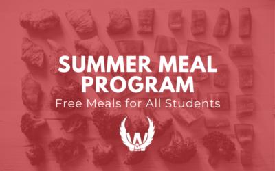 Summer Meal Program: Sign-Ups Open!