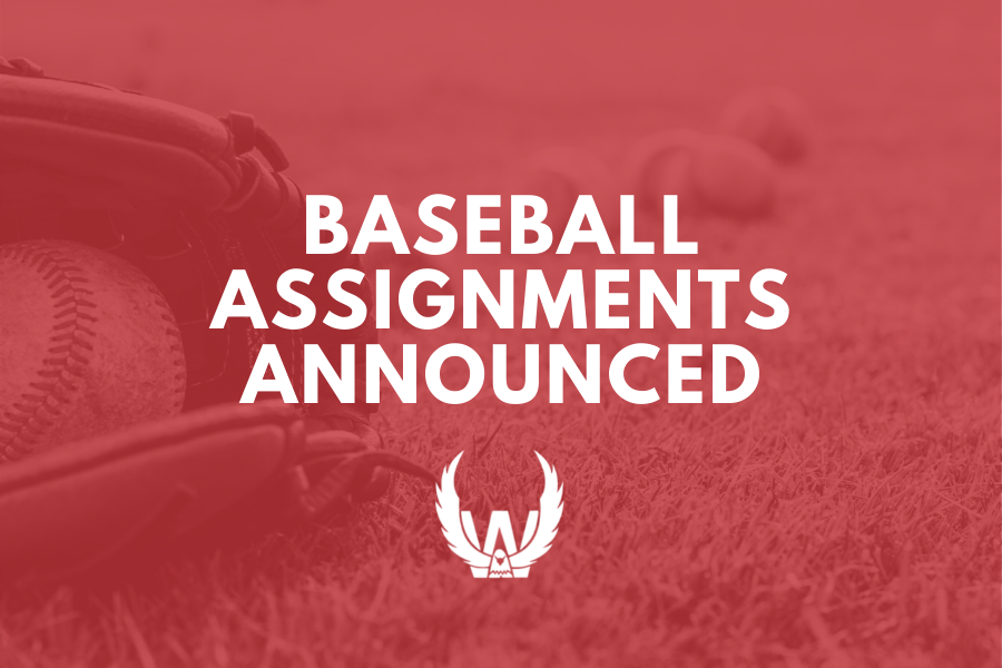 District Baseball Assignments Announced