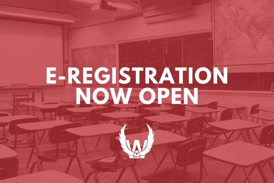 E-Registration Open