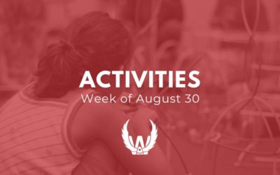 Activities for the Week of August 30